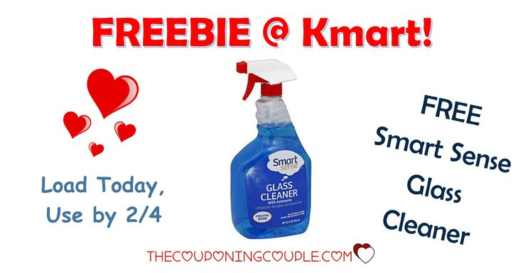 It's the KMART FRIDAY FIX! Get an ecoupon for FREE Smart Sense Glass Cleaner! Get the ecoupon now!  Click the link below to get all of the details ► http://www.thecouponingcouple.com/kmart-friday-fix/ #Coupons #Couponing #CouponCommunity  Visit us at http://www.thecouponingcouple.com for more great posts!