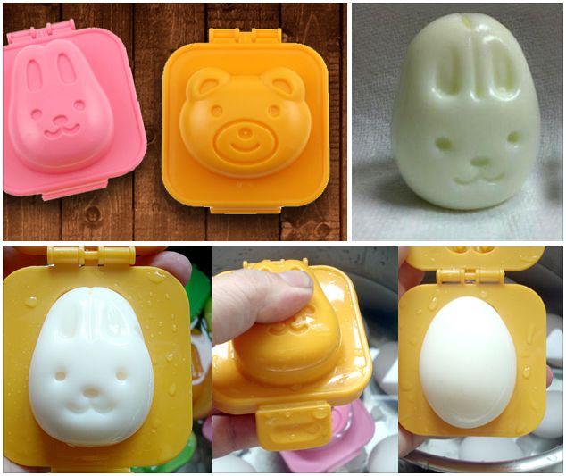 molded funny egg