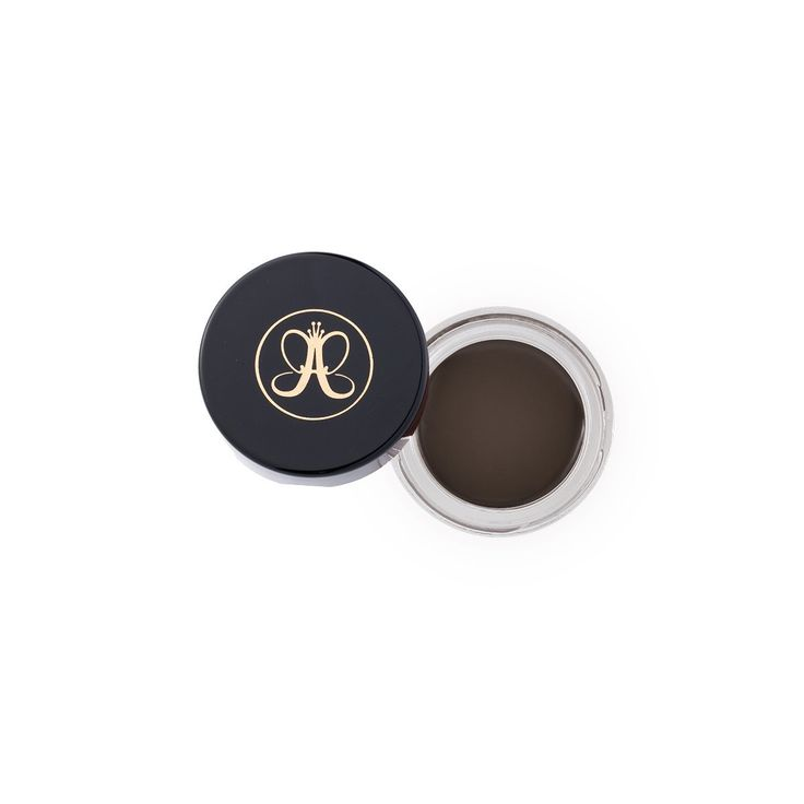 Anastasia Beverly Hills - Dipbrow Pomade - Ash Brown 4.0 g / 0.14 Oz. Long-lasting and smudge-proof. High-pigment formula glides on easily and dries fast. Acts as an all-in-one brow product. Available in 11 shades.