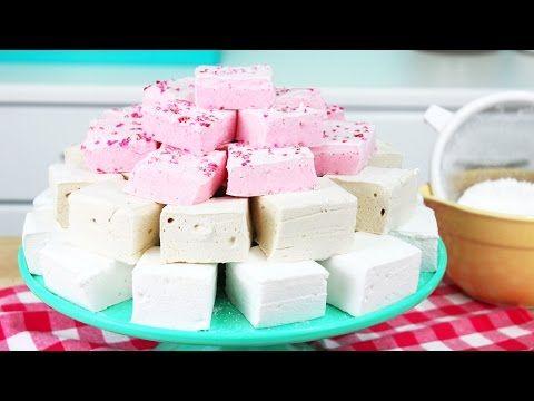 Domáce marshmallows | Recept na domáce penové cukríky