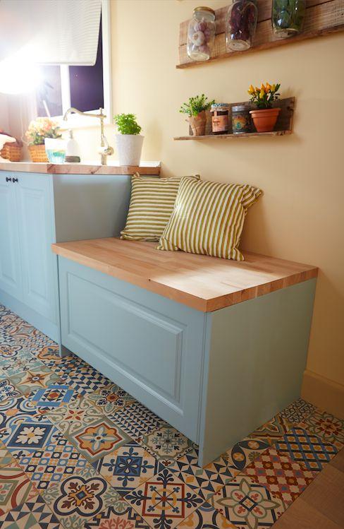 Espacio extra de almacenaje en la cocina leroy merlin organiza tu espacio pinterest merlin - Cocinas leroy merlyn ...