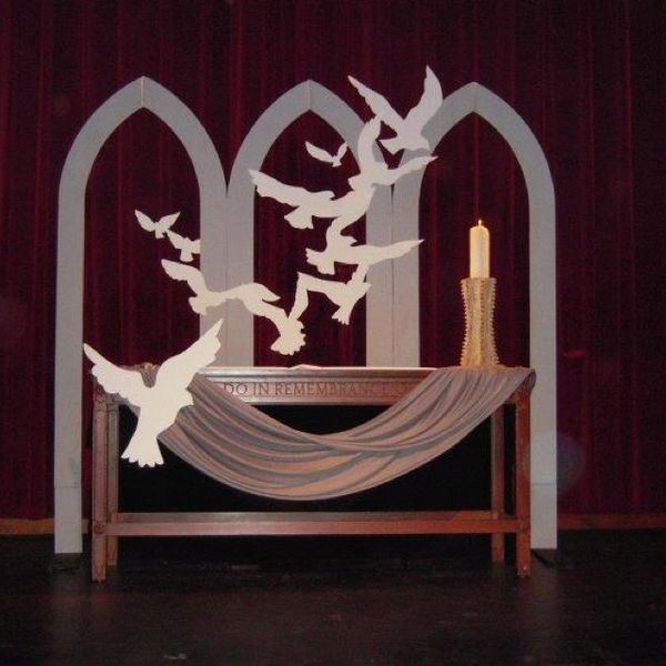 Simple Church Altar Decorations: 16 Best Images About Holiday Church On Pinterest