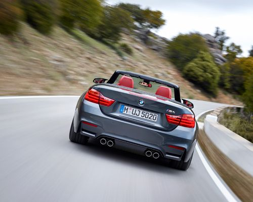 the new 2015 BMW M4 convertible