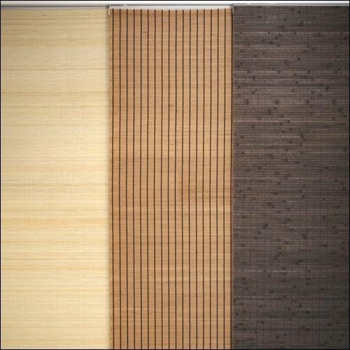 Ber ideen zu schiebevorhang auf pinterest for Bambus schiebevorhang