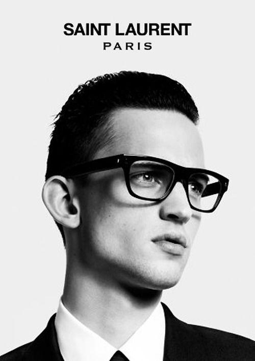 Brayden Pritchard for Saint Laurent Paris' Fall/Winter 2012 Eyewear Campaign byHedi Slimane