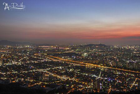 Night view by Aung Pyae Hein