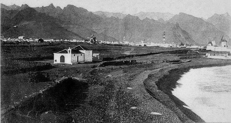 Molinos de la Salle, Ermita de Ntra. Sra. De Regla, la torre de la Concepción y las playas que ya no existen.