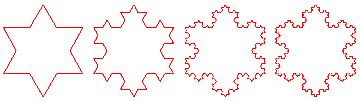 The Koch Snowflake (with triangle grid paper printable)