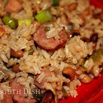 Black-Eyed Pea Jambalaya (Emeril Lagasse) @keyingredient #chicken #shrimp