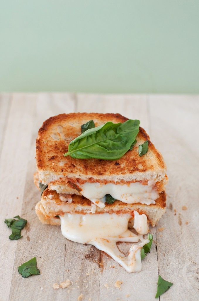 """""""The Margherita"""" Pizza Grilled Cheese"""