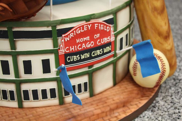 CHICAGO --It took the Cubs 108 years to win a World Series, but this cake took roughly 200 hours to create by the French Pastry School's Certified Master Sugar Artist Chef Sunny Lee who mentored intern Eunli Cho, a graduate of the 16-week cake decorating program.  The tower is made of about 45 pounds of sugar; 25 pounds of chocolate and 10 pounds of rice Krispies.