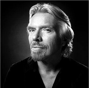Sir Richard Branson  a true Entrepreneur....the greatest Optimist, seeing the opportunity in every difficulty..Sir Branson the great!