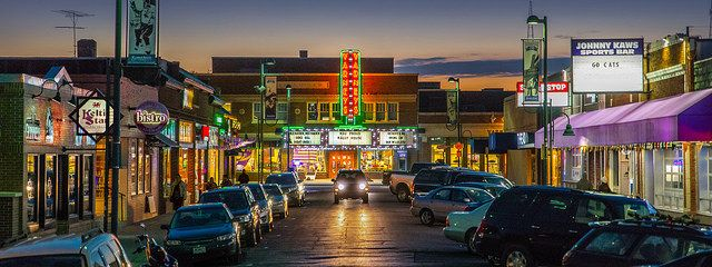 Aggieville Great Memories Manhattan Kansas State Of Kansas