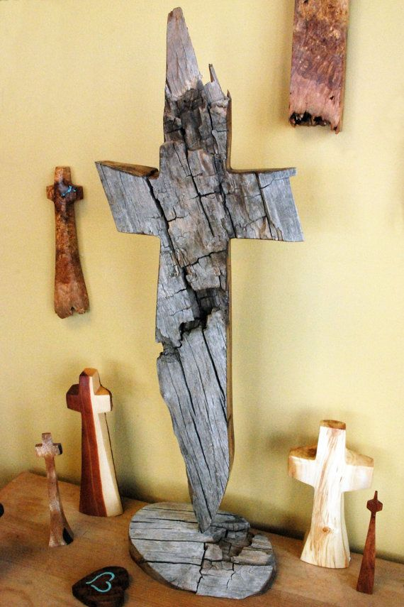 418 best hand made cross images on Pinterest | Woodworking crafts ...