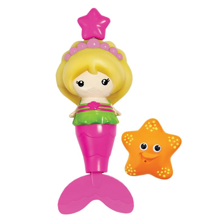 Splash Along Mermaid (Marina & Jewel) - Bath Toys - Bath - Products