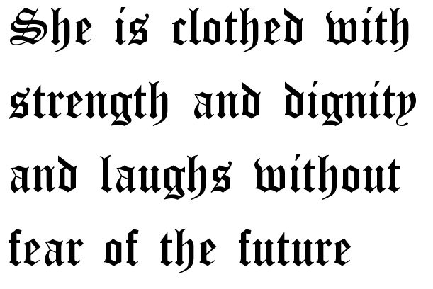 Old English Font - Old English Font Generator