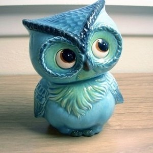 Cute ceramic Owl
