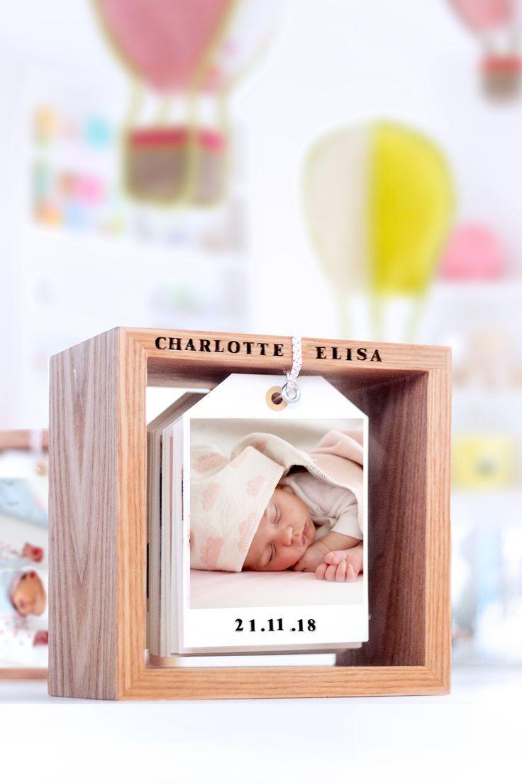 Diy Fotokalender Im Holzrahmen Bildlein Wechsel Dich Geschenke Zur Geburt Junge Diy Geschenke Geburt Und Geschenke Zur Geburt Basteln