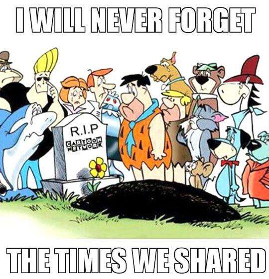 RIP Cartoon Network: (my time) kids next door, powerpuff girls, adventure time, regular show, chowder, TEEN TITANS omg etc