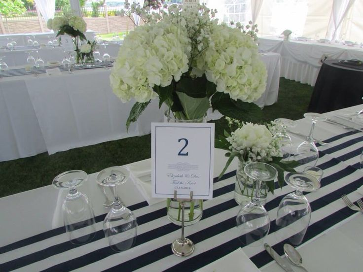 Table numbers with 'knot' theme