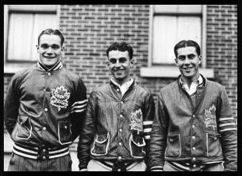 """The Kid Line"" The trio of Charlie Conacher, Harvey Jackson and Joe Primeau had a combined age of 59 when they came together in the 1930s for the Toronto Maple Leafs. Conacher was the old man of the group at 23, while the other two players were 18."