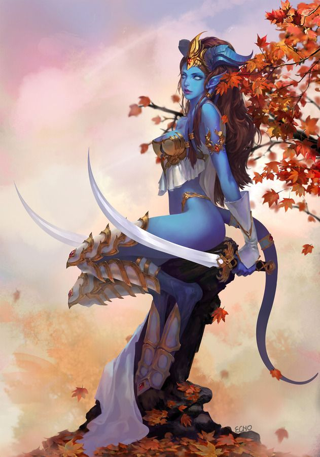 world-of-warcraft-here:  Draenei