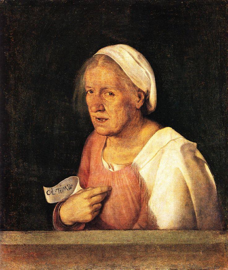 Ritratto di Vecchia, Giorgione  Discover the coolest shows in New York at www.artexperience...