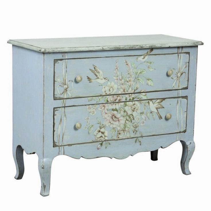 Commode 2 tiroirs  - Collection Florentin - Copyright Interior's France
