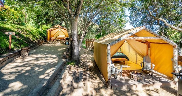 Luxury Tent, Smr Carmel Camping, CA: 16 Hipcamper Reviews ...