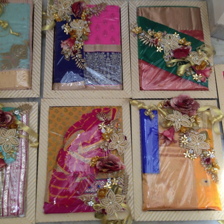 134 best saree packing images on pinterest dish dishes for Wedding gift decoration