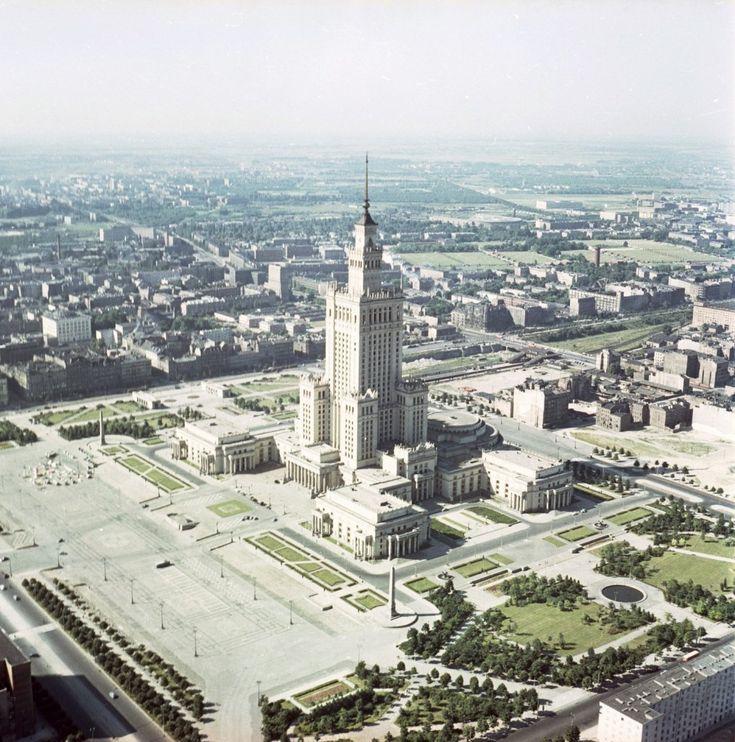 Warszawa 1963 - Pałac Kultury i Nauki