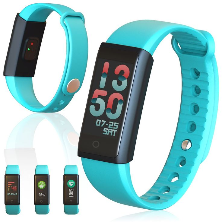 """Indigi X6s Bluetooth SmartWatch Fitness Tracking Bracelet - Pedometer + Heart Rate Monitor + Blood Pressure Monitor. 【Super Powerful Function】: Indigi Heart Rate Watch combined with pedometer, walking distance, exercising time, calories consumed, message & app & call notification, clock/sedentary alarm, camera remote, sleep monitor, blood pressure monitoring, blood oxygen content. All functions displaye don the 0.96"""" color display. 【Heart Rate & Blood Pressure & blood Oxygen Monitoring】:..."""