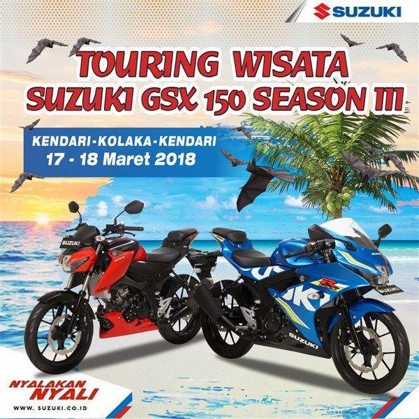 Suzuki GSX Community Serukan Kampanye Safety Riding di Kendari – Kolaka