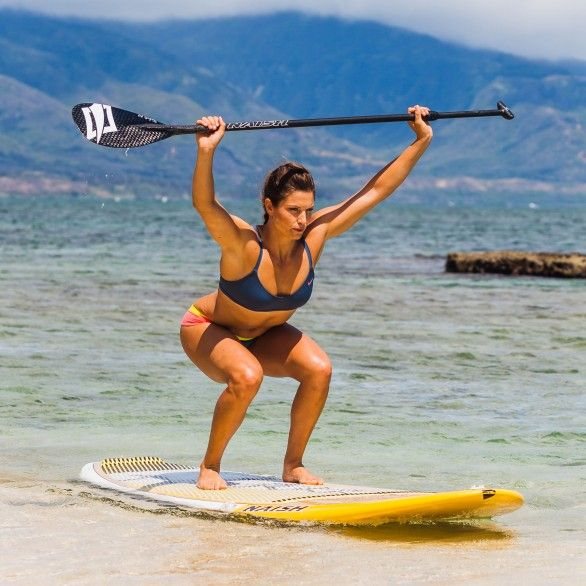 Olympic skier Julia Mancuso takes her pre-winter workouts to the beach!