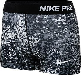 "A perfect gift for your mom! Check out these NIKE Women's Pro Printed 3"" Shorts"