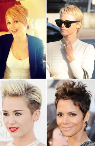 Interesting Fashion Fact of the Day   It's pretty obvious short pixie cuts are become a popular trend but did you know back in the day short hair on ladies meant they were unfaithful wives! I know pretty crazy, right?