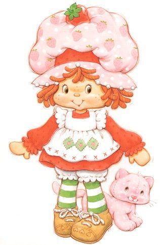 Moranguinho Clássica / Classic Strawberry Shortcake