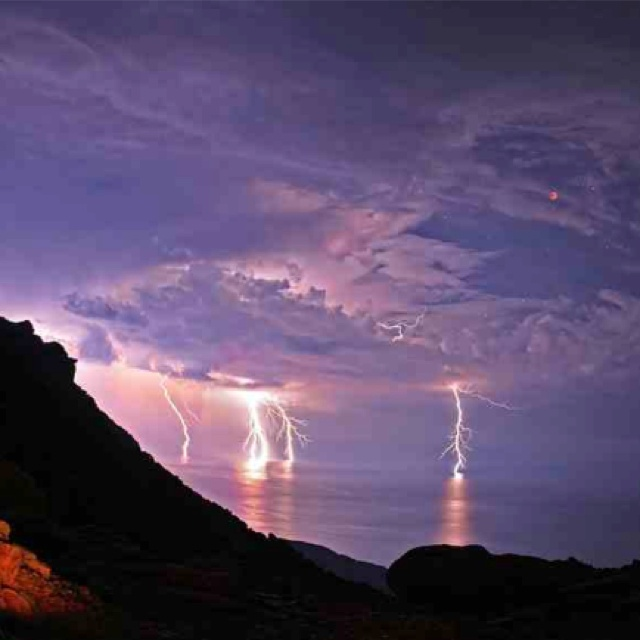 Storms a comin' Lightning storm, wash away the tears and the trouble... https://www.youtube.com/watch?v=OguVb3uSZTs