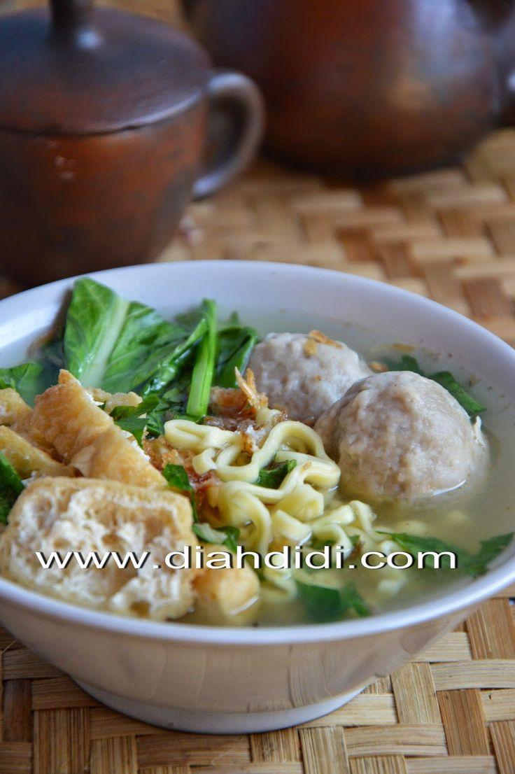 Diah Didi's Kitchen: Resep Kuah Bakso