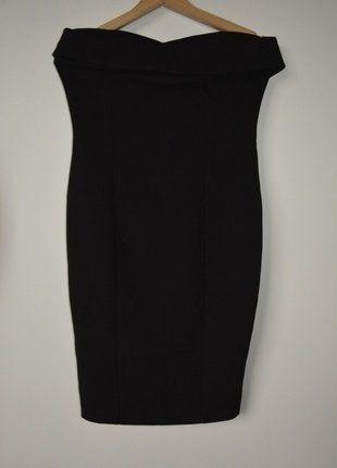 Kup mój przedmiot na #vintedpl http://www.vinted.pl/damska-odziez/krotkie-sukienki/16099453-zara-czarna-elegancka-suknia-sukienka-tuba-rozm38