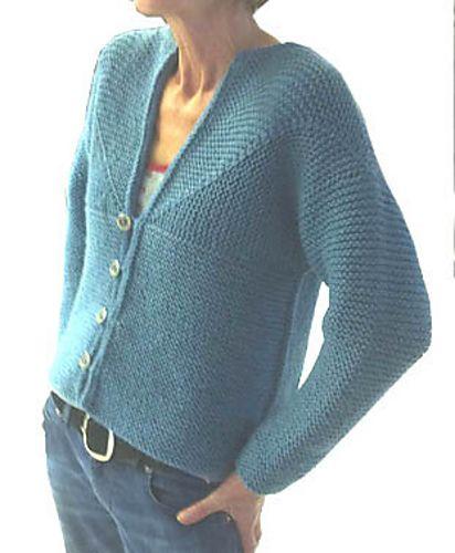 Ravelry: Adult Modular Cardigan Jacket pattern by Loraine Birchall