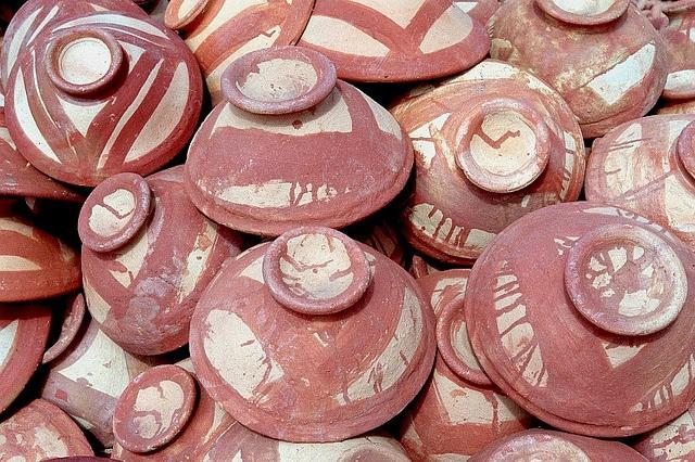 simple pottery #mali #pottery