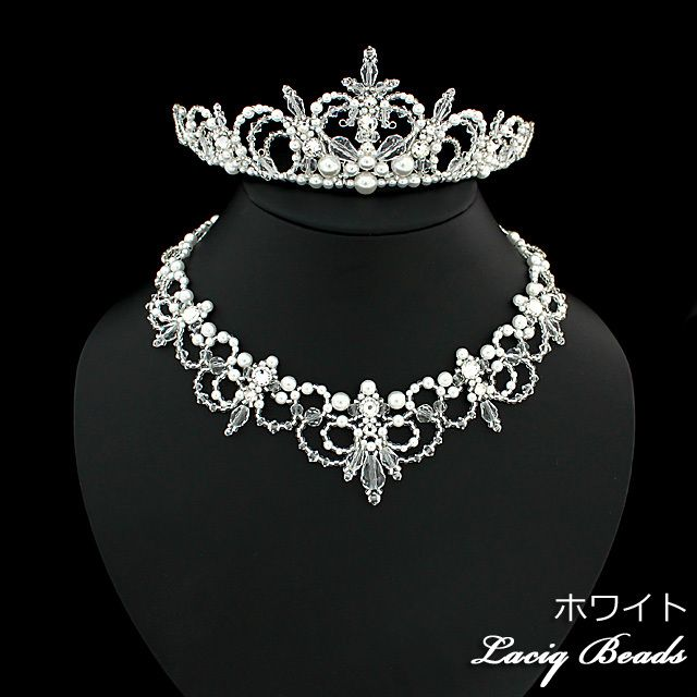【手作りキット】ダイヤモンドハートのティアラ