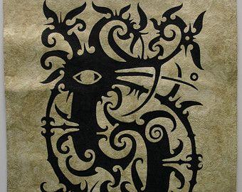 Image result for north borneo glyph illustration