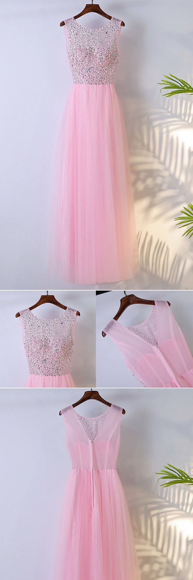 Only $109, Cute Pink Long Sleeveless Prom Dress With Bling Sequins #MYX18183 at #SheProm. SheProm is an online store with thousands of dresses, range from Prom,Party,Pink,Sparkly Dresses,Long Dresses,Customizable Dresses and so on. Not only selling formal dresses, more and more trendy dress styles will be updated daily to our store. With low price and high quality guaranteed, you will definitely like shopping from us.