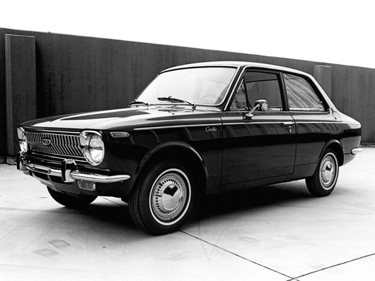 Toyota Corolla coach US 1968-1969 - photo Toyota | Auto Forever