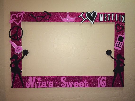 Photo Frame Party Prop Sweet Sixteen To By