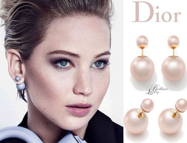 DIOR Double Pearl Earrings- Το Must Have Αξεσουάρ της Σεζόν