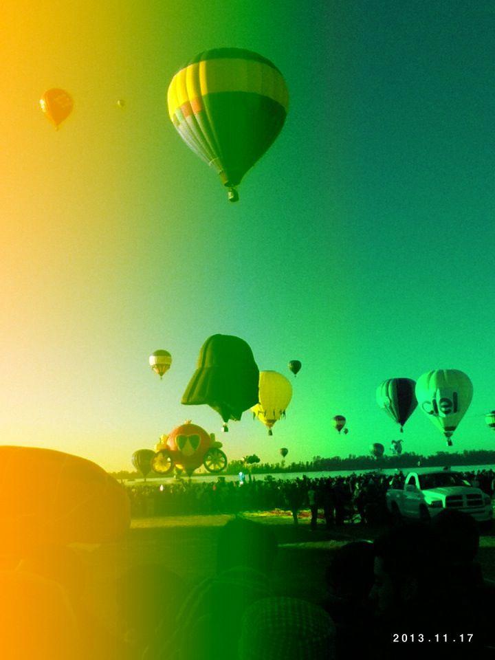 Muchos globos <3