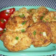 Fotografie receptu: Květákové placičky se sýrem